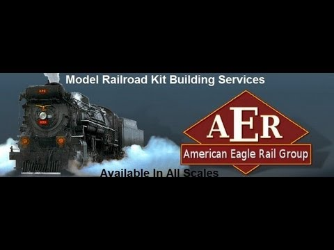 Model Railroad Kit Building Services by American Eagle Rail
