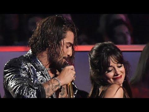 Maluma y Camila Cabello Coqueto Baile en MTV VMAS