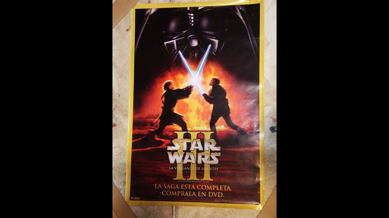 Star Wars Episode Iii Revenge Of The Sith Poster Review