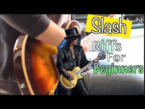 Slash Riffs Beginners Can Play!