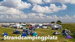 Strandcamping im Nordseebad Dangast