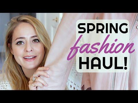 Spring FASHION Haul! ASOS, Zara, All Saints   Fleur De Force