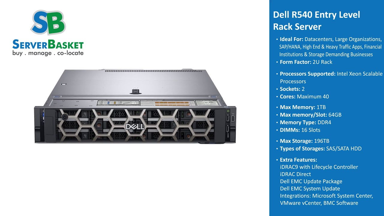 Buy Dell Server Online In India! Dell Tower, Rack, Blade
