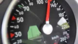 Audi TT 1.8 T 180 HP, 0-130 Acceleration