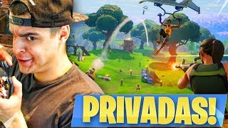 PARTIDAS PRIVADAS CON SUBS en FORTNITE: Battle Royale! - AlphaSniper97
