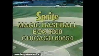 Sprite Magic Baseball (Promo, 1982)