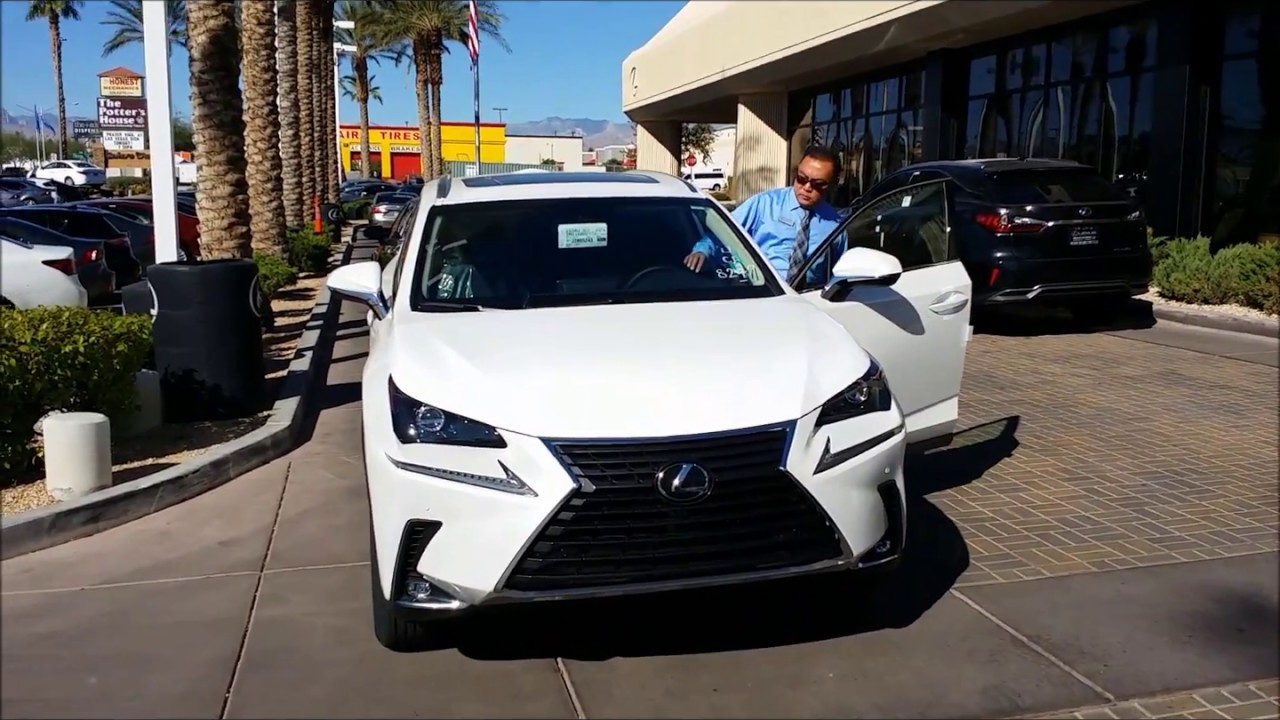 2018 lexus nx300 arrives at lexus of las vegas - youtube