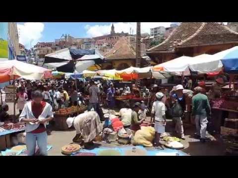 Malagasy Market In Antananarivo アンタナナリボのマーケット