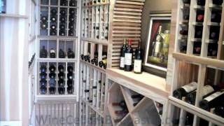 Custom Wine Cellar Builders California - Laguna Beach Sea View Project