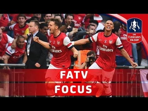 Arsenal seek further Emirates FA Cup glory - Ramsey & Gibbs interview | FATV Focus