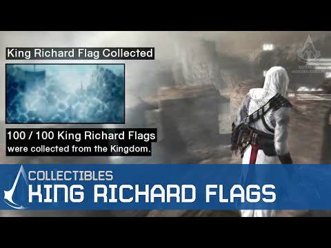 Assassin's Creed - Side Memories - King Richard Flags Locations