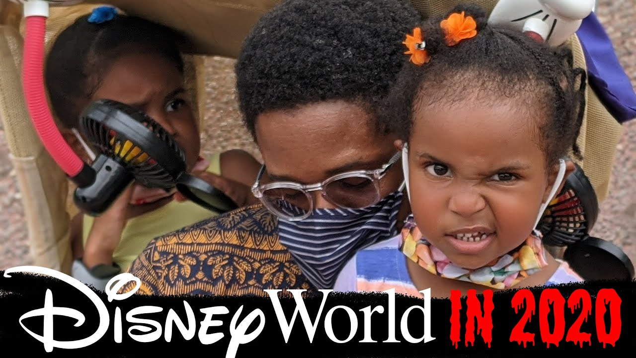 I Took My Girls To Disney During A Global Pandemic (part 1)