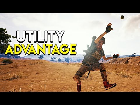 Utility Advantage - PlayerUnknown's Battlegrounds (PUBG)