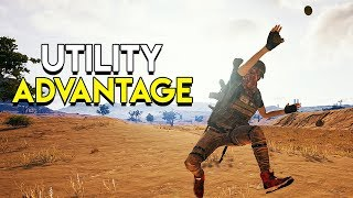 Utility Advantage - PlayerUnknown's Battlegrounds (PUBG)