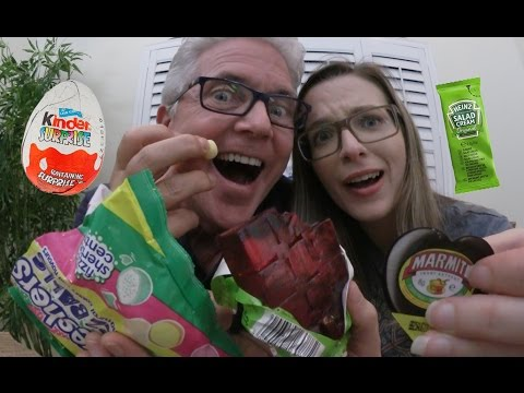Age Gap Couple Trying British Food Products!