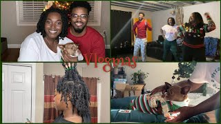 VLOGMAS 2020 #3 | Christmas Day | Just Dance 2021 | Taking Out Braids MORE | Naomi Onlae