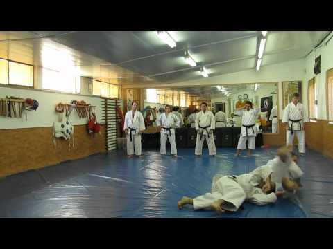 Shishi-Do Karate Club - Black Belt Examinations By Kancho Okuyama