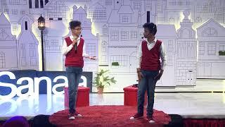 Falling in Love with the Camera | Ahmed Khaled & Najm Khaled | TEDxKids@Sanaa