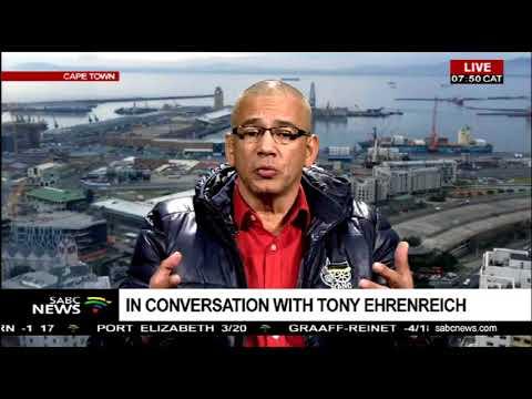 In conversation with Tony Ehrenreich