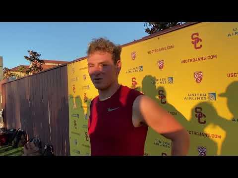 USC QB Miller Moss — Oregon State week