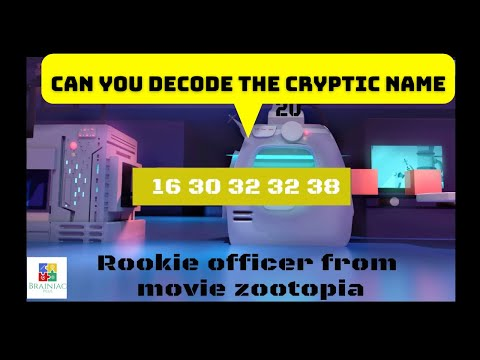 Cryptogram puzzles | Decode your favorite movie character names | Improve critical thinking skills