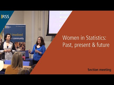 Women in Statistics: Past, present & future