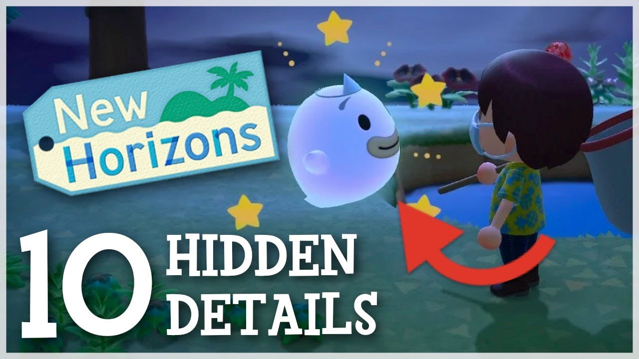 Animal Crossing New Horizons - 10 Hidden Details You Should Know
