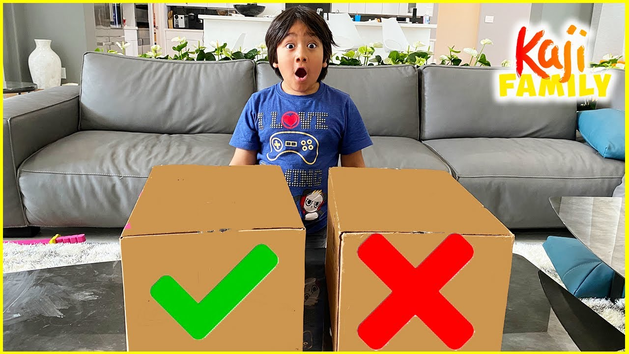 Don't Choose The Wrong Box Challenge and more!!!!