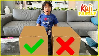 Don&#39t Choose The Wrong Box Challenge and more!!!!