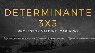 Determinante de matriz 3 x 3 pelo teorema de Laplace