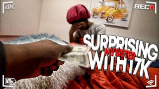 Surprising TeeTee With $17,000 For Her Birthday !! well kinda