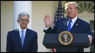 Donald Trump criticizes Federal Reserve, ignores long standing wall