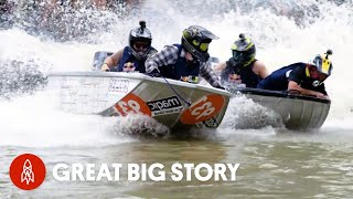 Competing in One of the Craziest Boat Races in the World