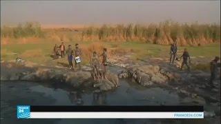 أبناء بلدة حمام العليل العراقية يعودون لحياتهم الطبيعية