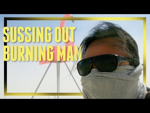 Our First Full Day At Burning Man