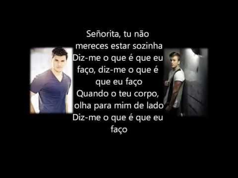 David Carreira et Mickael Carreira - Señorita paroles (letras)