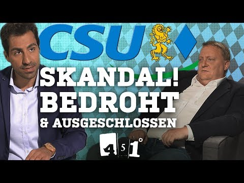 "CSU Politiker packt aus – ""Parteisoldaten"" in Stasi-Form 