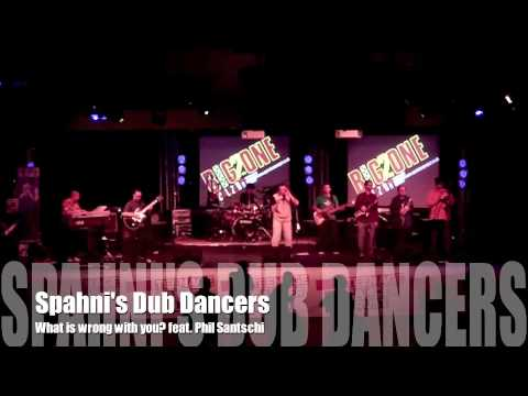 """Spahni's Dub Dancers feat. Phil Santschi """"What is wrong with you""""Live at Specialized2 UK"""