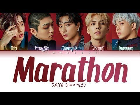 DAY6 (데이식스) - Marathon (마라톤) LYRICS (Color Coded Eng/Rom/Han/가사)