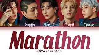 DAY6 (데이식스) - Marathon (마라톤) LYRICS (Color Coded Eng/Rom/Han/가사)