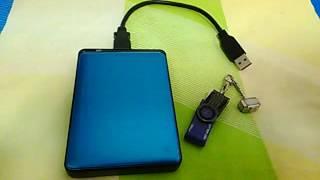 Pendrive vs hard disk.