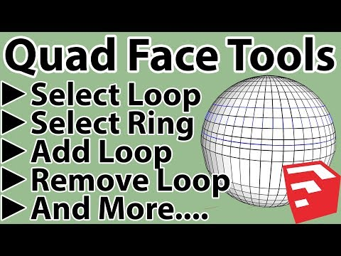 How To Use QuadFace Tools In Sketchup