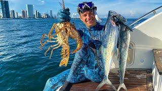 Ура Вырвался Подводная Охота на Лобстеров в Майами 4К