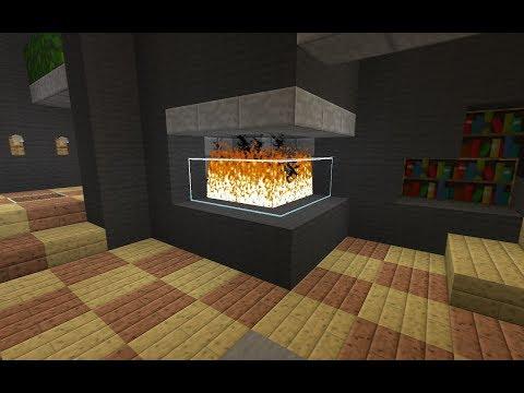 Comment Faire De Belles Cheminées Sur Minecraft-astuce Déco-Asterax208
