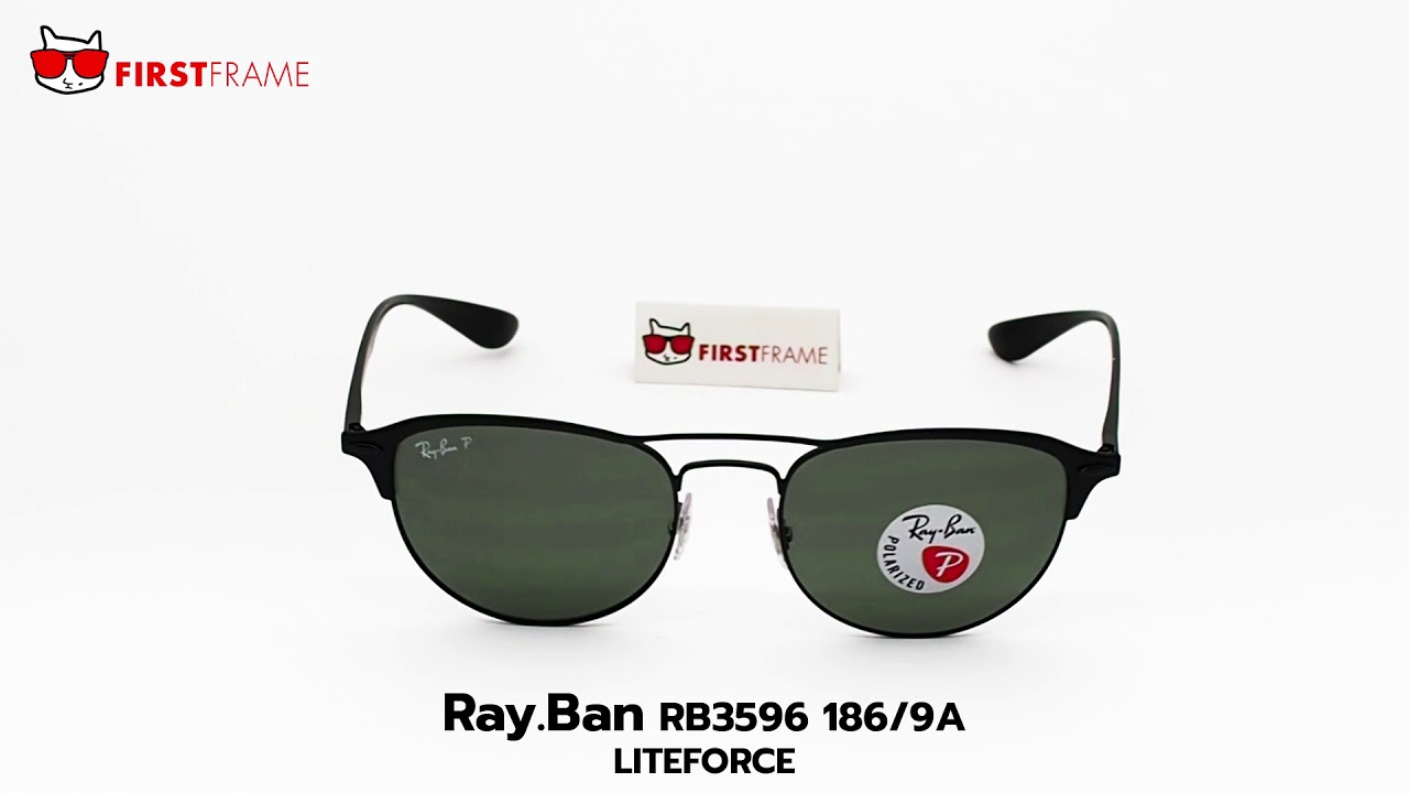 cc9d5875c9 RayBan RB3596 186 9A LITEFORCE - YouTube