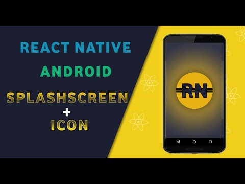 Android splash screen, React Native example