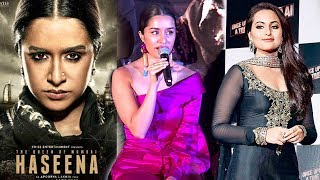 Shraddha Kapoor On Replacing Sonakshi Sinha In Haseena Parkar