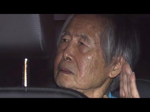 Peru's ex-president Fujimori released after controversial pardon