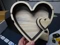 Making a Custom Rustic Valentines Heart Box