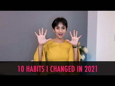 Self Care 2021 Ideas | Life Changing Habits For 2021 | Healthy habits